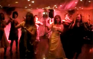 Hen Party Thriller routine