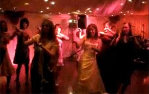 Hen Party Thriller routine