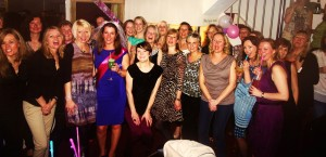 Salsa teachers Bristol - A Hen party