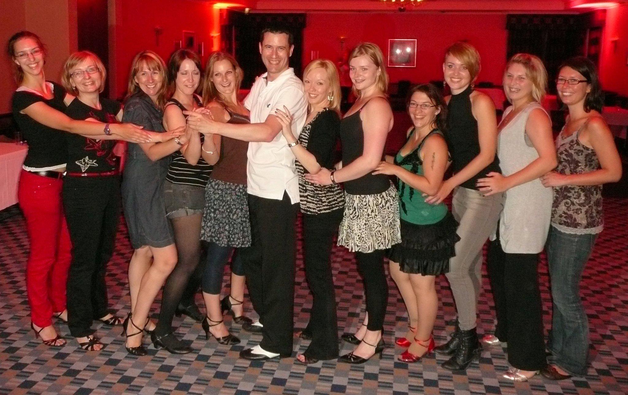 Salsa teachers Bristol – Salsa Hen party