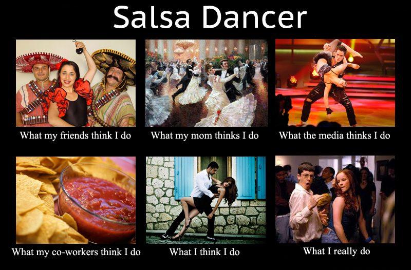 desirable Salsa social dancer
