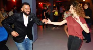 Gary & Jayne - salsa dancing bristol friday